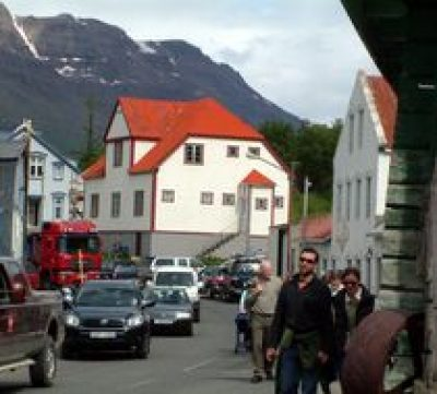 Strætó Bus Stop Egilsstaðir