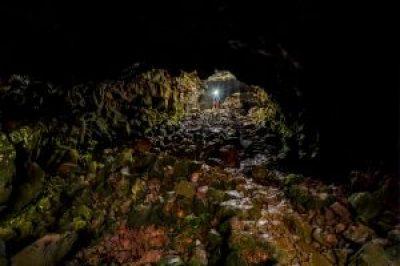 Raufarhólshellir Cave