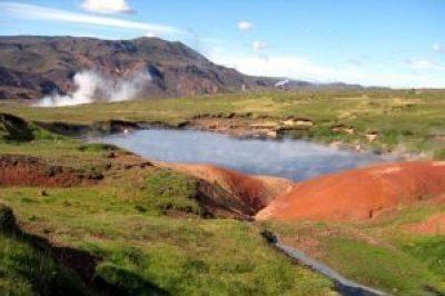 Hrómundartindur Volcano