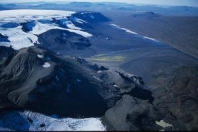 Prestahnúkur Volcano